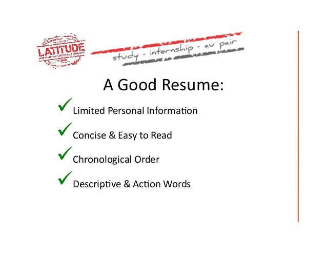 communicated 8 a good resume - How To Write A Excellent Resume