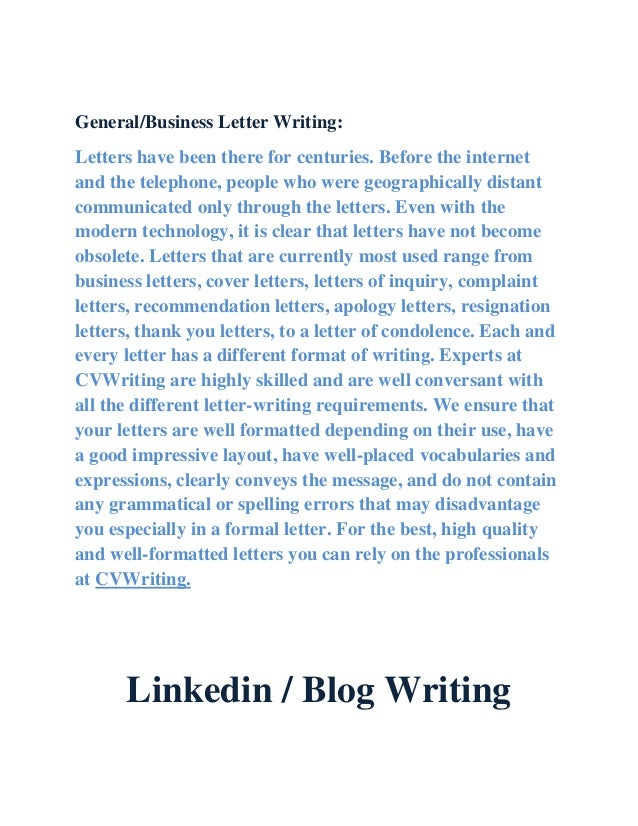 Cv writing service waterford