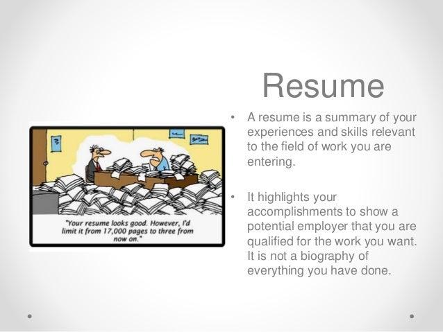 cv vs resume writing presentation 11