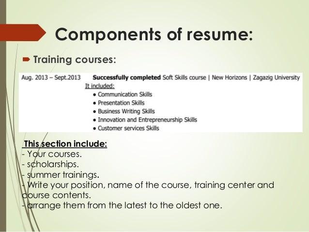 resume writing training - Selo.l-ink.co