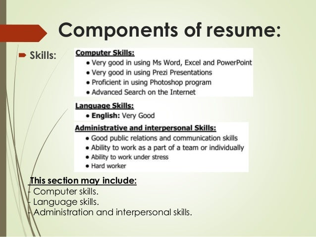 List Skills On List Of Skills For Resume Sample Resumes Listing Samples  Resume For Job Computer  Skills And Abilities On Resume