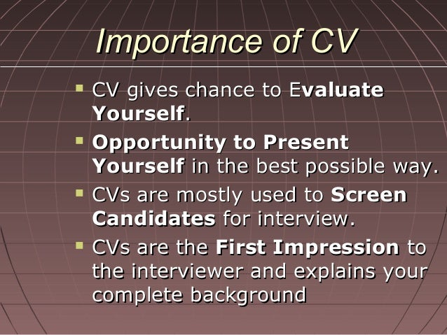 how to write a good cv by syed arslan rizvi