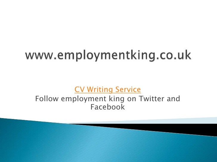 Cv writing services 3rd kings
