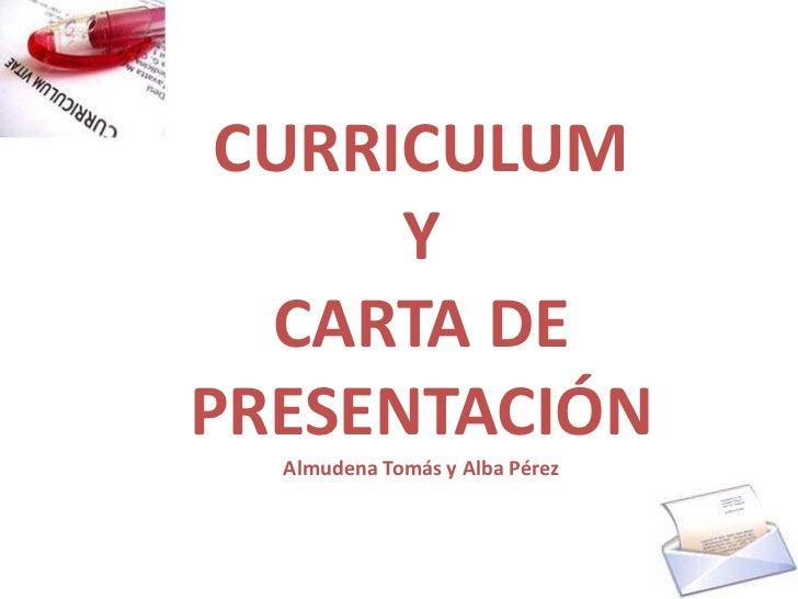 Cv Y Carta De Presentación