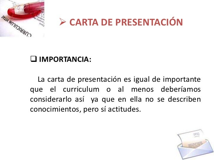 carta de presentacion corta ejemplo
