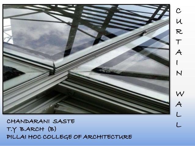 C U R T A I N W A L LCHANDARANI SASTE T.Y B.ARCH (B) PILLAI HOC COLLEGE OF ARCHITECTURE