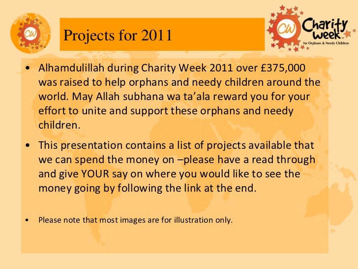 Cw2011 Project Proposals Summary