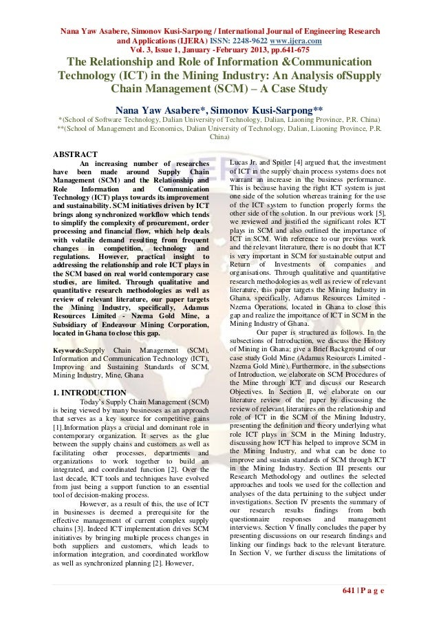 Nana Yaw Asabere, Simonov Kusi-Sarpong / International Journal of Engineering Research               and Applications (IJE...