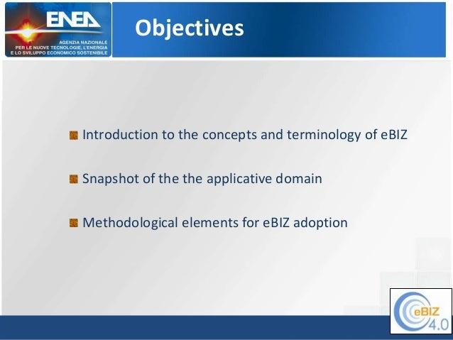 eBIZ courseware -Module  01 - Introduction (CW513-015) Slide 3