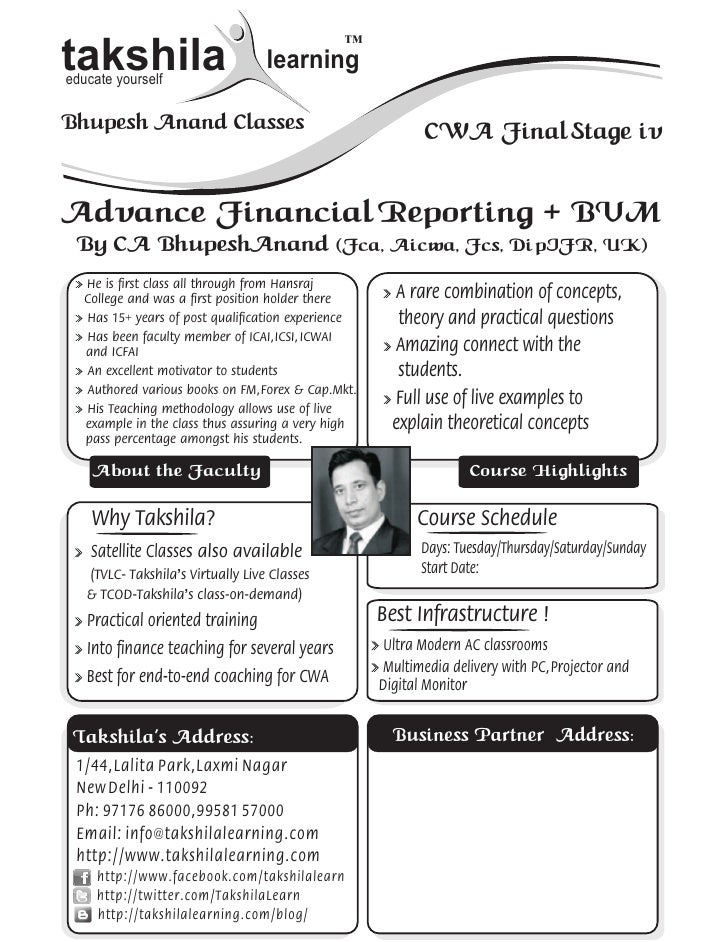™takshilaeducate yourself                                    learningBhupesh Anand Classes                                ...
