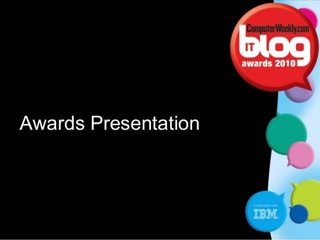 C Awards Presentation
