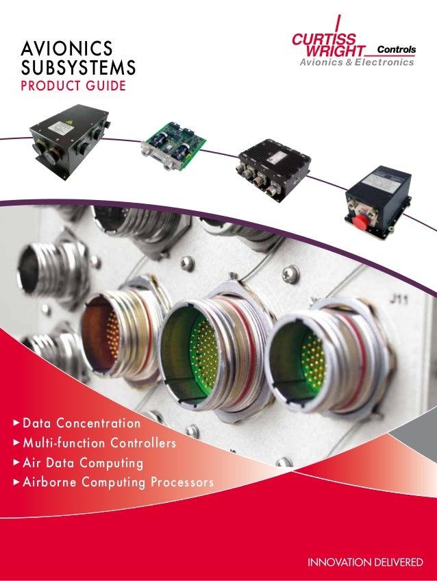 AVIONICSSUBSYsTEMSproduct guideData ConcentrationMulti-function ControllersAir Data ComputingAirborne Computing Processors