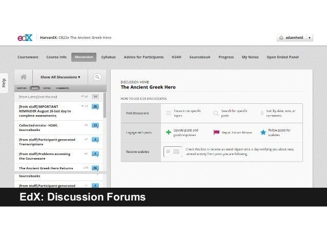 EdX: Discussion Forums