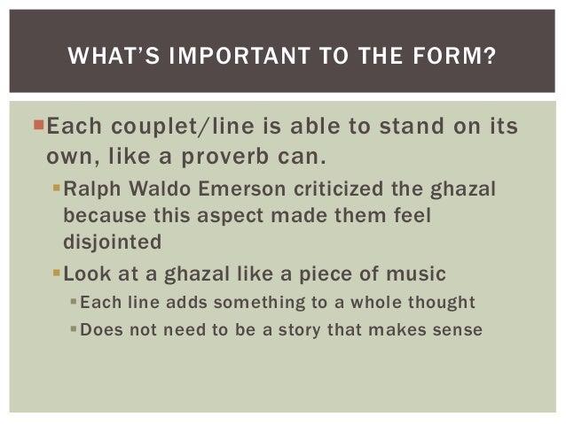 Cw ghazal