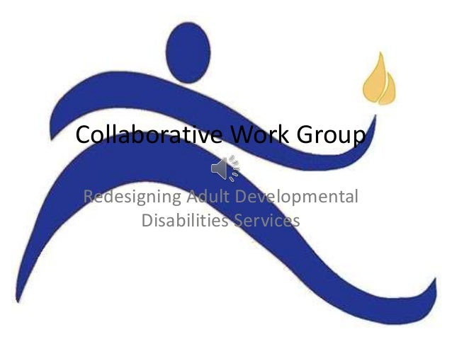 Collaborative Work Group Redesigning Adult Developmental Disabilities Services