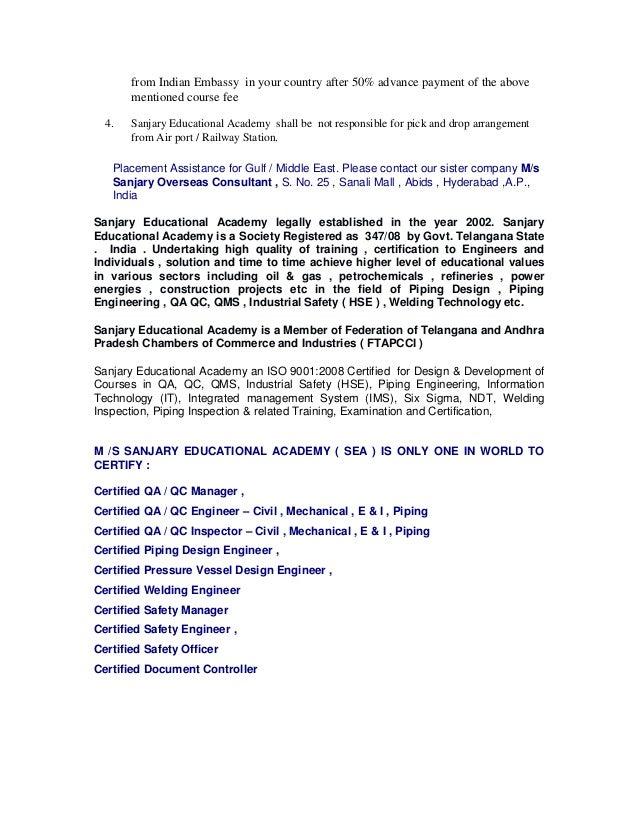Cwi Certified Welding Inspector Course
