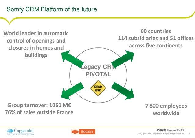 Cwin16 - lyon - agility and salesforce Slide 2