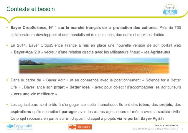 Cwin16 - lyon - bayer better-idea Slide 2