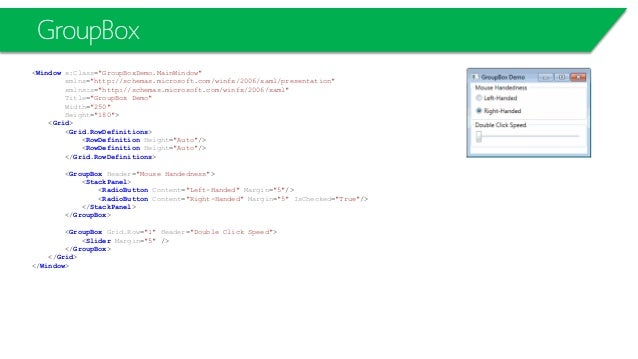 WPF L01-Layouts, Controls, Styles and Templates
