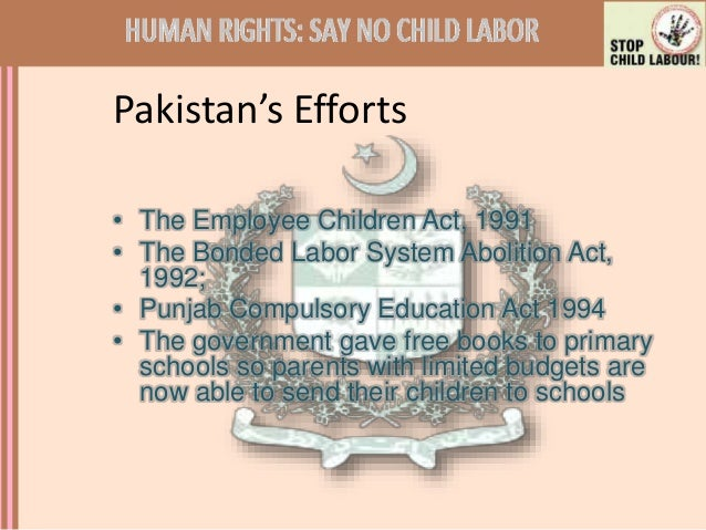 how parental ignorance causes child labor Ignorance, lack of skills and  focusing on the effect of parental education  children are most at the mercy of the cycle of poverty because a child is.