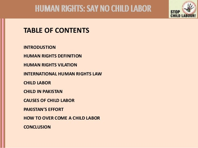 the reasons and effects of child labor in pakistan Child labour is the practice of having children engage in economic activity, on a part- or full-time basis the practice deprives children of their childhood, and is harmful to their physical and mental development.