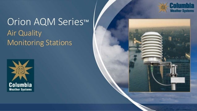 Orion AQM Series™ Air Quality Monitoring Stations