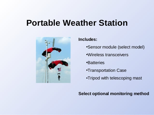 CWS - Professional Weather Stations