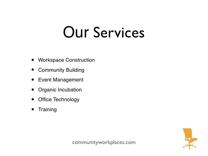 HAVE FUN   communityworkplaces.com