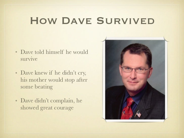 a review of a child called it an autobiography by david pelzer A child called it study guide contains a biography of dave pelzer,  quiz  questions, major themes, characters, and a full summary and.