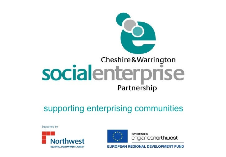 supporting enterprising communities