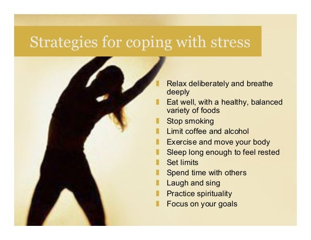 Coping With Stress and Depression