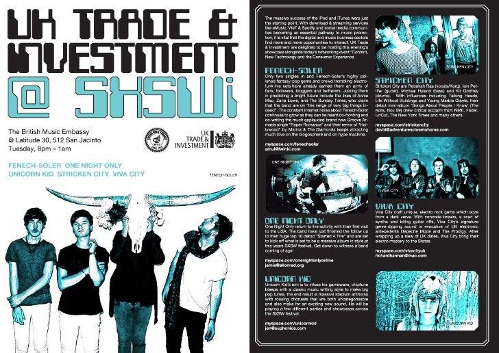 Digital Mission to SXSWi 2010 Brochure