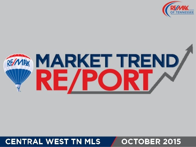 Central West TN MLS October 2015 Market Trends