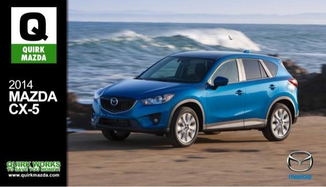 2014 Mazda CX-5 Brochure MA | Quincy Mazda Dealer