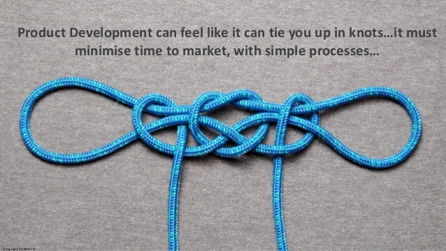 Product Development can feel like it can tie you up in knots…it must minimise time to market, with simple processes… Copyr...