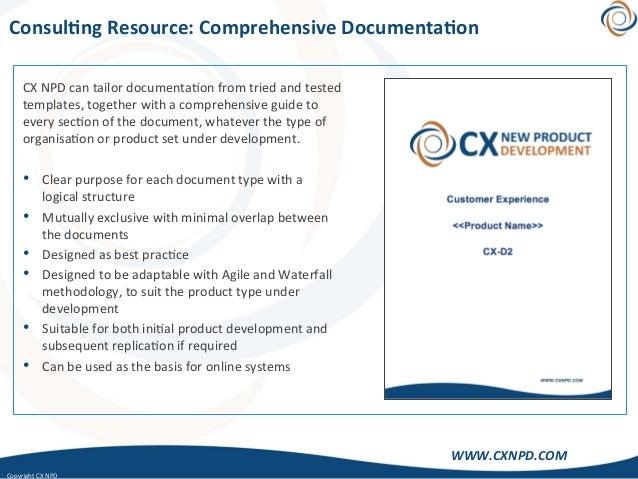 CopyrightCXNPD WWW.CXNPD.COM Consul)ngResource:ComprehensiveDocumenta)on CXNPDcantailordocumenta<onfromtrie...