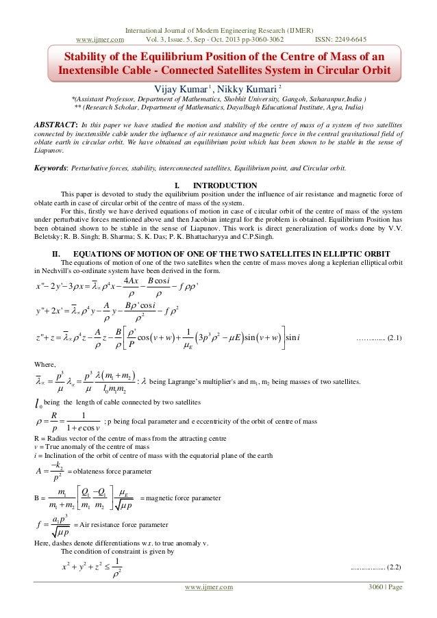 www.ijmer.com  International Journal of Modern Engineering Research (IJMER) Vol. 3, Issue. 5, Sep - Oct. 2013 pp-3060-3062...