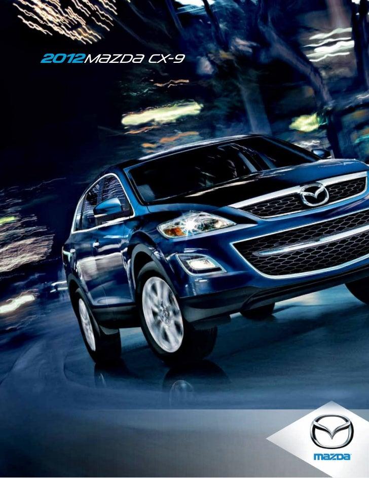Florida Mazda Dealers >> 2012 Mazda Cx9 Crossover Suv Brochure Provided By Naples