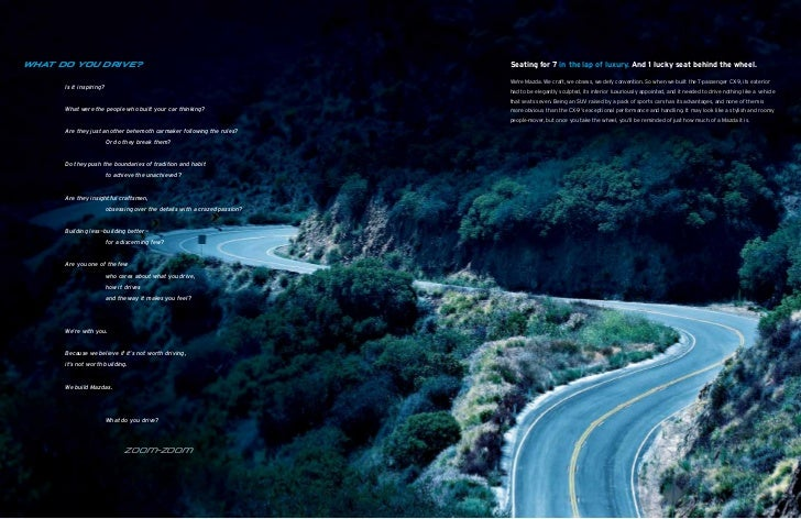 2012 Mazda Cx9 Crossover Suv Brochure Provided By Naples