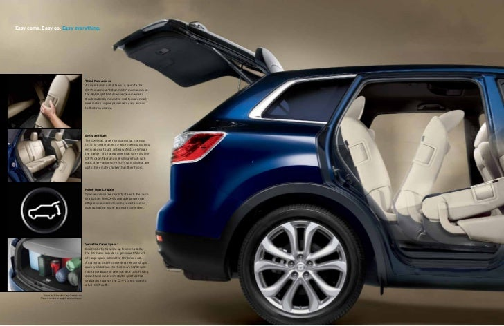 Acura Fort Myers >> 2012 Mazda CX9 Crossover SUV brochure, provided by Naples Fort Myers