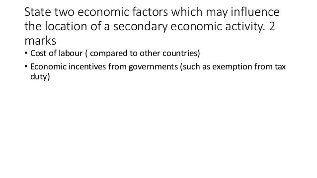 CSEC Geography 2015 question 6 sample answers
