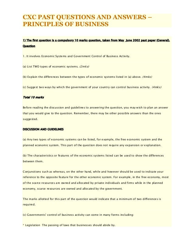 Marketing management exam essay questions and answers