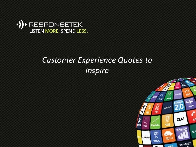 Customer Experience Quotes to Inspire