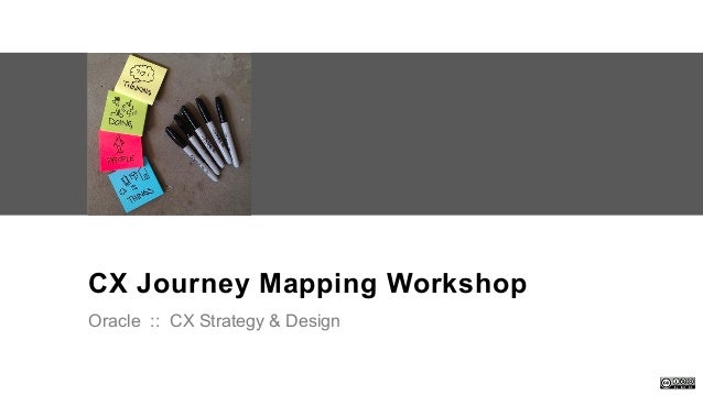 Oracle . CX Strategy & Design Workshop . DesigningCX.com CX Journey Mapping Workshop Oracle :: CX Strategy & Design