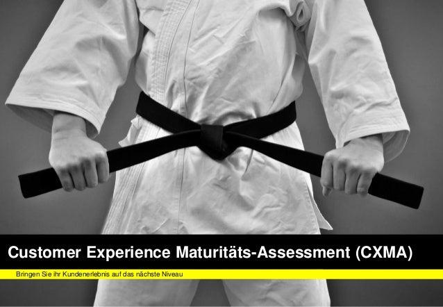 FUTURELABFUTURELABFUTURELAB Customer Experience Maturitäts-Assessment (CXMA) Bringen Sie ihr Kundenerlebnis auf das nächst...