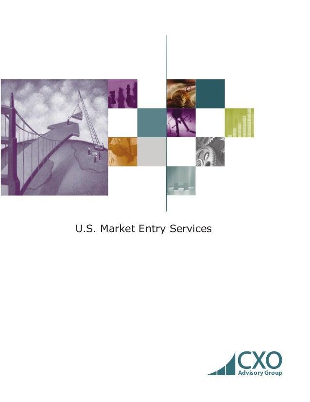CXOAdvisory GroupU.S. Market Entry Services