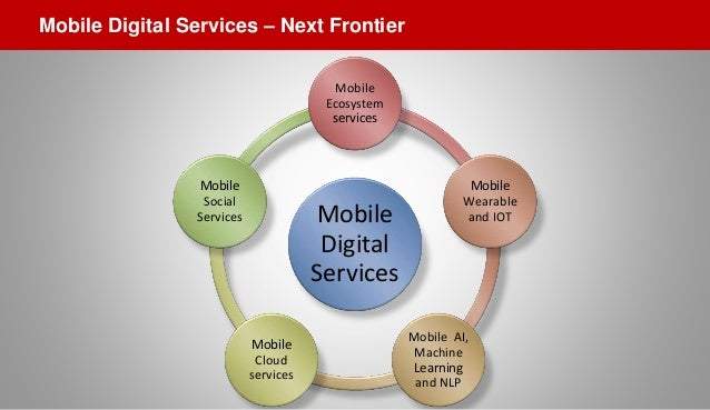 Mobile Digital Services Mobile Ecosystem services Mobile Wearable and IOT Mobile AI, Machine Learning and NLP Mobile Cloud...