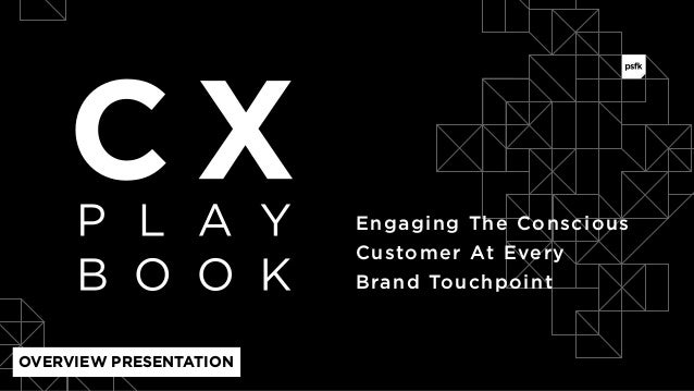 Engaging The Conscious  Customer At Every Brand Touchpoint OVERVIEW PRESENTATION