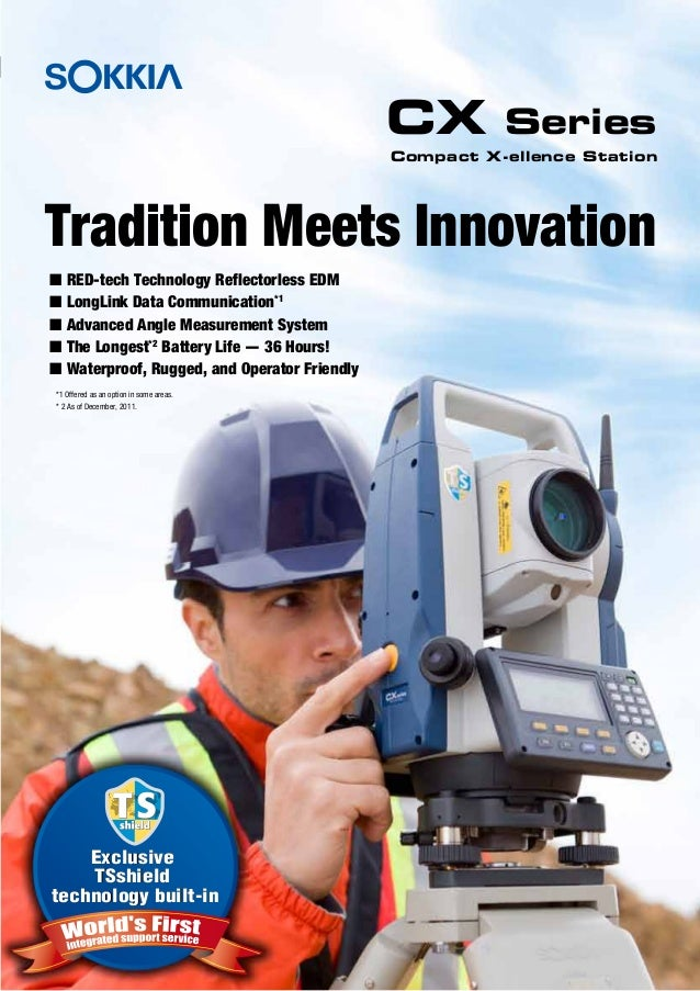 Tradition Meets Innovation CX Series Exclusive TSshield technology built-in Exclusive TSshield technology built-in Compact...