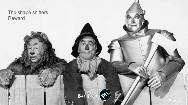 Your Candidate Journey Vs The Wizard of Oz Employees, commentators Scarcrow, tin man, Lion Shapeshifter The shape shifters...